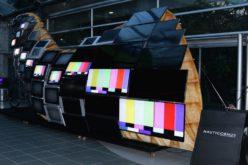 Samsung elaboró en Bogotá una escultura interactiva hecha con televisores
