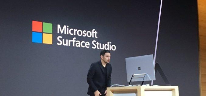 Microsoft presenta Surface Studio, su nuevo 'todo en uno'
