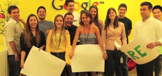Google busca jóvenes para trabajar como pasantes en Bogotá