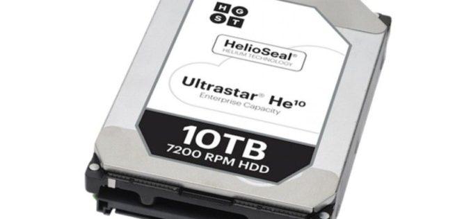 WD vende 10 millones de discos duros con tecnología helio