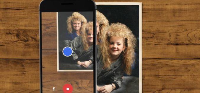 PhotoScan: una 'app' de Google para escanear fotos antiguas con el móvil