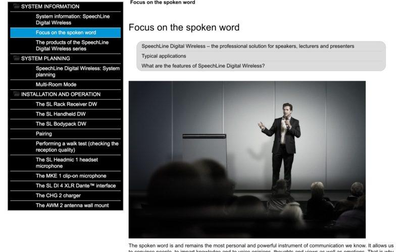 Sennheiser lanza la App de Documentación para ofrecer acceso rápido a productos multimedia