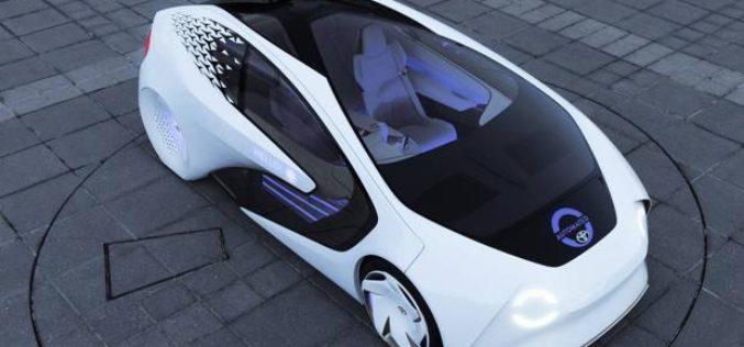 Toyota muestra el Concept-i durante el CES 2017