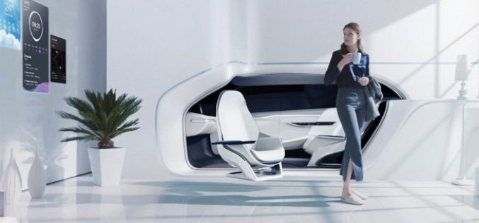 Lujoso diseño de Hyundai presentado en el CES 2017