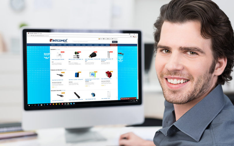 Webstore intcomex un ejecutivo virtual para facilitarle for Distribuidores online