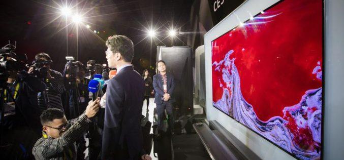 LG Signature oled TV W lleva el diseño de  televisores a otra dimensión en el CES 2017