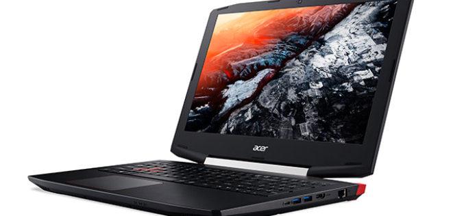 Acer lanza Aspire VX 15, serie V Nitro y GX orientadas al rendimiento