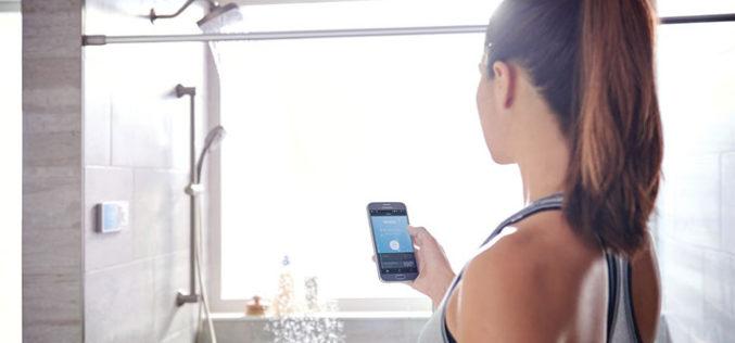 CES 2017: Controla el agua que gastas con esta ducha inteligente