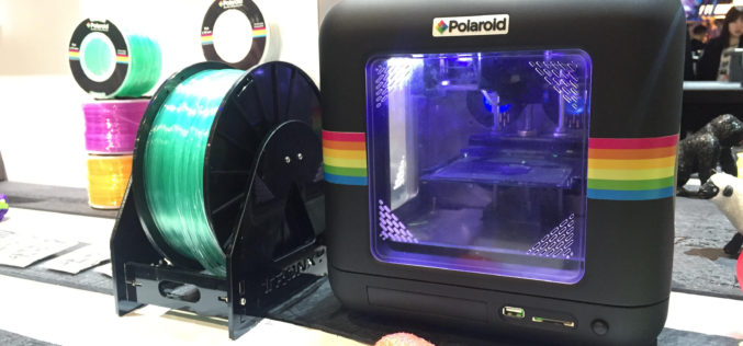 Polaroid lleva las impresiones 3D a los hogares