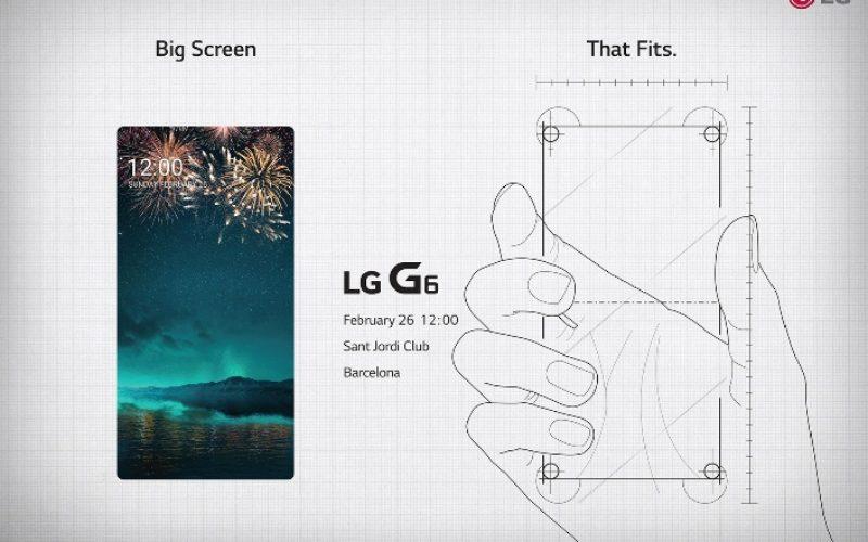Faltan pocos días para la llegada del el LG G6