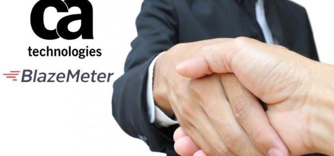 CA Technologies adquiere BlazeMeter para impulsar velocidad y calidad en la evaluación de aplicaciones