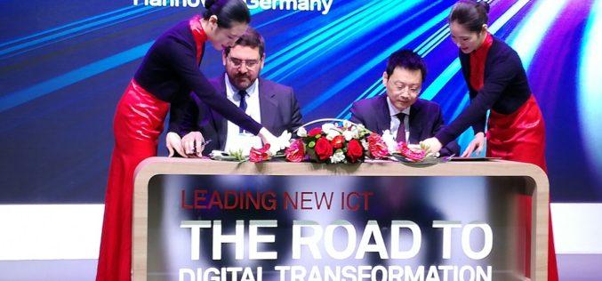 Huawei e Indra colaboran para potenciar sus estrategias de crecimiento internacional