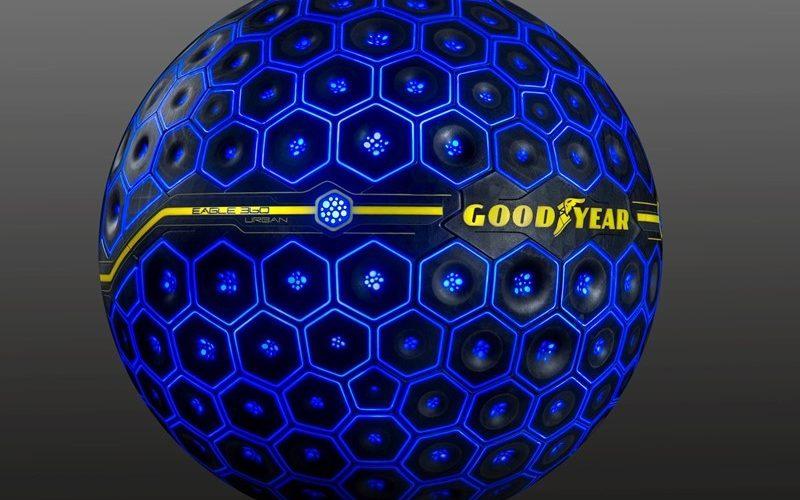 Goodyear presenta el neumático Eagle 360 Urban, un concepto activado por inteligencia artificial