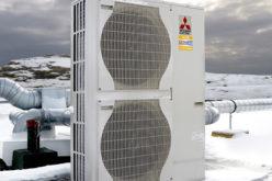 Mitsubishi Electric presenta su nuevo equipo para calentar en temperaturas bajo cero