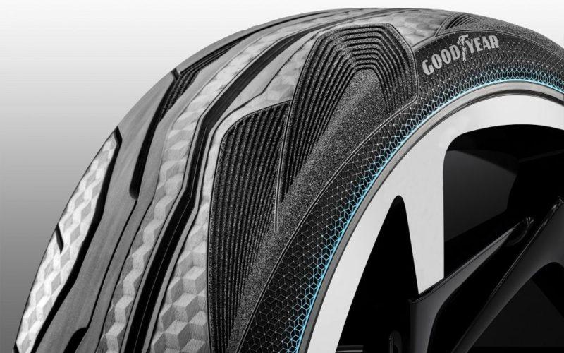 Goodyear presenta el concepto IntelliGripUrban: Un neumático inteligente para las futuras flotas urbanas