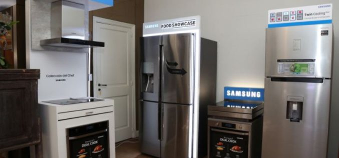 """Samsung presentó la """"Colección del Chef"""": la nueva línea de innovaciones tecnológicas para el hogar"""