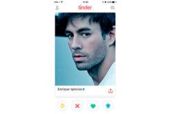 ¡Todo el mundo está en Tinder, hasta Enrique Iglesias!