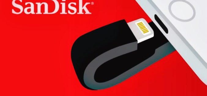 Western Digital lanza Nueva Unidad Flash SanDisk para iPhone y iPad