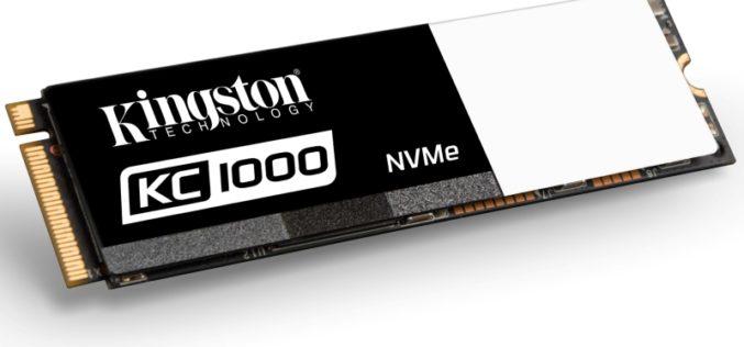 Kingston presenta KC1000 SSD para satisfacer las necesidades más exigentes de los entusiastas