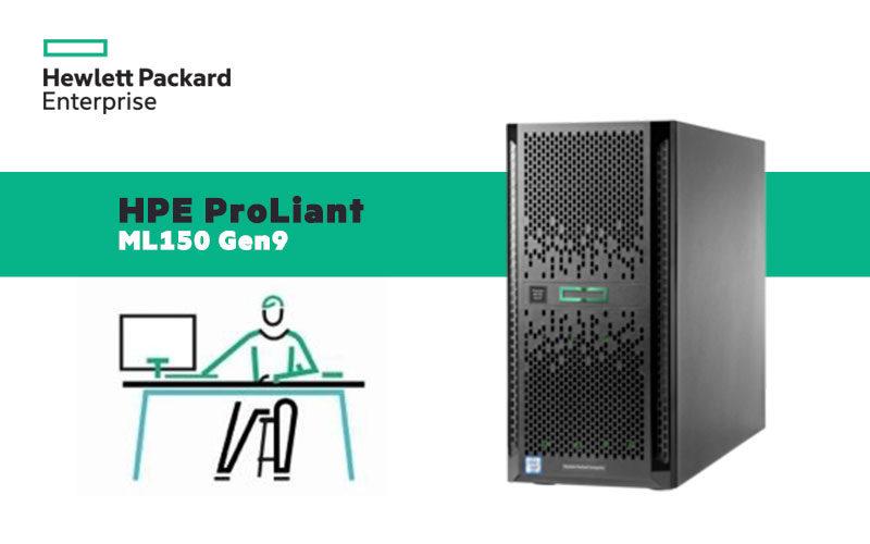 HPE ProLiant ML150 Gen9 ofrece hasta 2 procesadores Intel Xeon