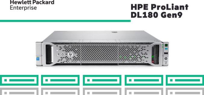 Conoce el servidor HPE ProLiant DL180 Gen9: posee 16 ranuras DIMM