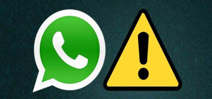 WhatsApp sufrió caída mundial