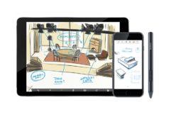 Bosquejos y dibujos en dispositivos iOS con el nuevo lápiz digital Bamboo Sketch