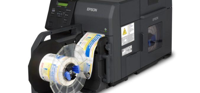 Epson lanza impresora de etiquetas C7500G a color para oficinas