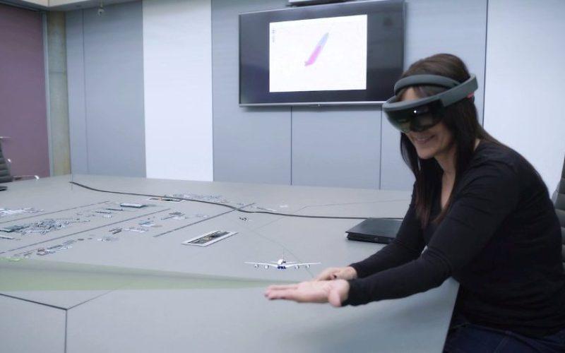 Indra Introduce La Realidad Mixta Y Las Hololens De Microsoft Para Diseñar Rutas Más Eficientes
