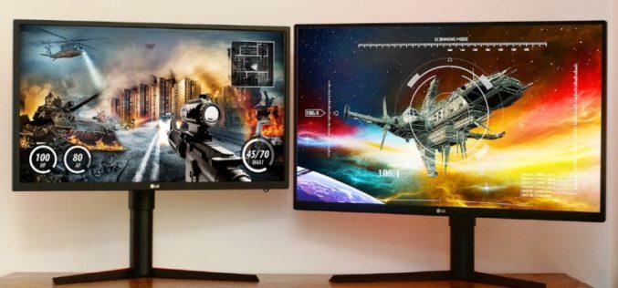 LG presenta monitores para Gamers EN IFA 2017