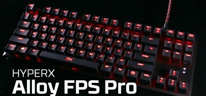 HyperX presenta su nuevo teclado Alloy FPS Pro