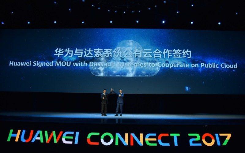 Huawei Cloud y Dassault Systèmes firman un memorándum para proveer innovación con plataforma 3DEXPERIENCE en la Nube