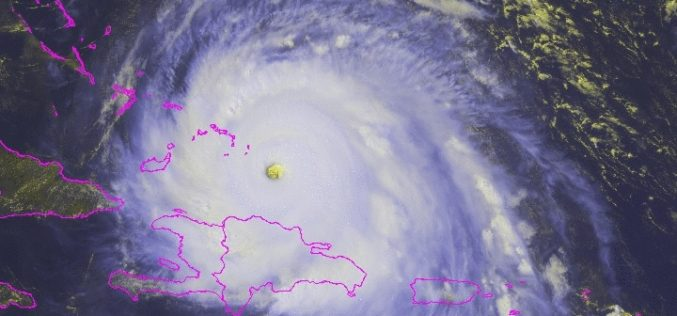 Sigue al huracán Irma en tiempo real