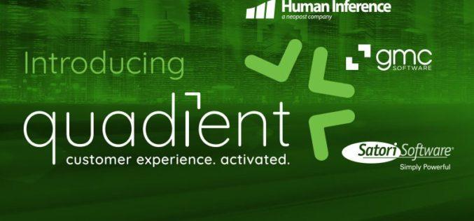 GMC Software es una de las tres empresas que cambia su nombre a Quadient®