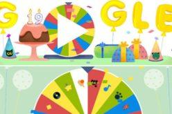 Google cumple 19 años y lo celebra con la Ruleta de la Fortuna