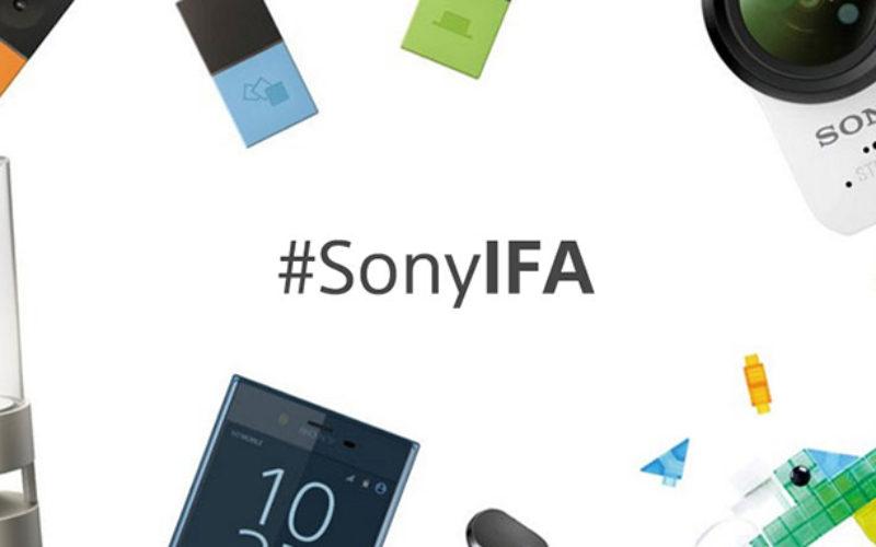 Sony presente en IFA 2017con productos novedosos de fotografía, car audio y bocinas