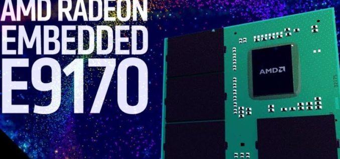 AMD anunció GPU de la Serie Radeon E9170