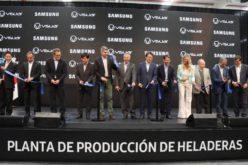 Inaugurada planta de heladeras Samsung de última generación, en Argentina