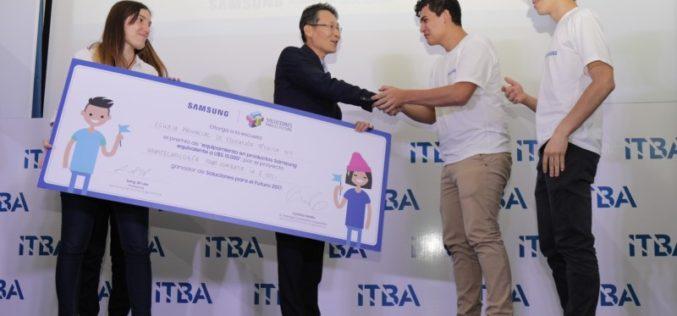 Concurso de innovación de Samsung para escuelas secundarias ya tiene ganador