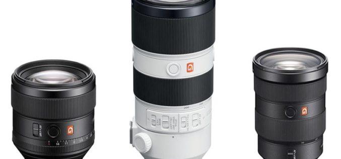 Conoce los nuevos lentes de la Serie de G Master de Sony: el complemento ideal para Alpha 9