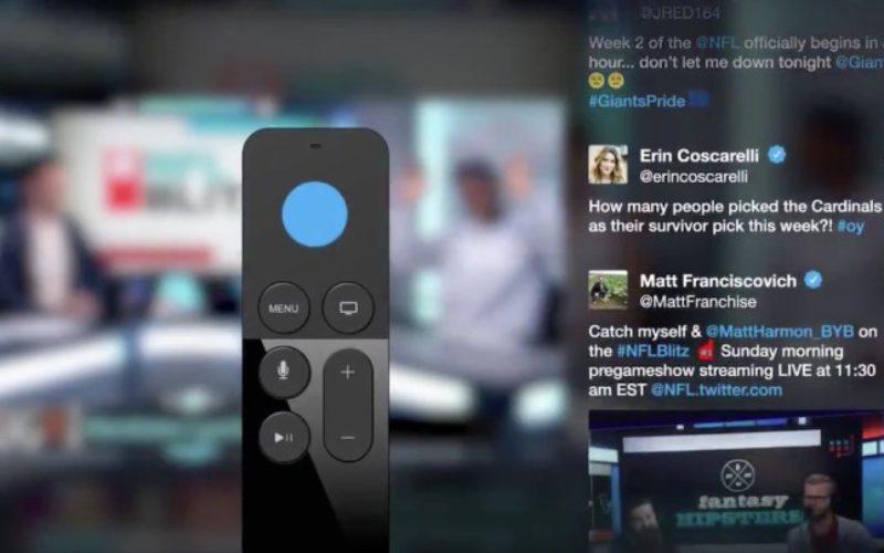 Twitter actualiza aplicación para Apple TV