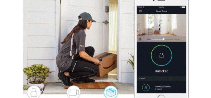 Amazon Key deja entrar al repartidor en casa