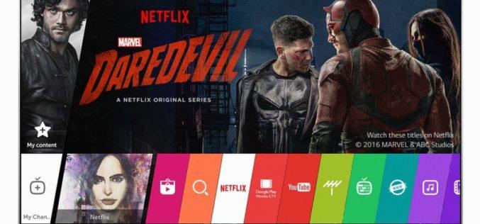 LG explica el impacto de los servicios streaming en la TV del futuro