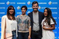 Estudiantes presentan soluciones científicas en concurso de Samsung