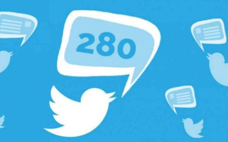 Twitter ya ofrece en todo el mundo 280 caracteres