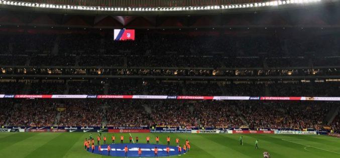 Tecnología de señalización de LG saluda a los fans del Atlético de Madrid