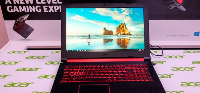 Acer abraza la categoría de portátiles 'gaming' en CES 2018