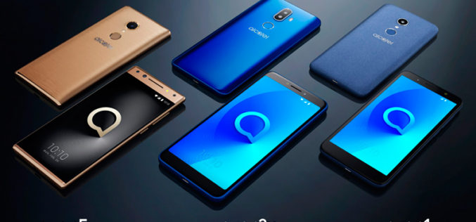 Alcatel está presente en el CES con sus tres nuevos smartphones
