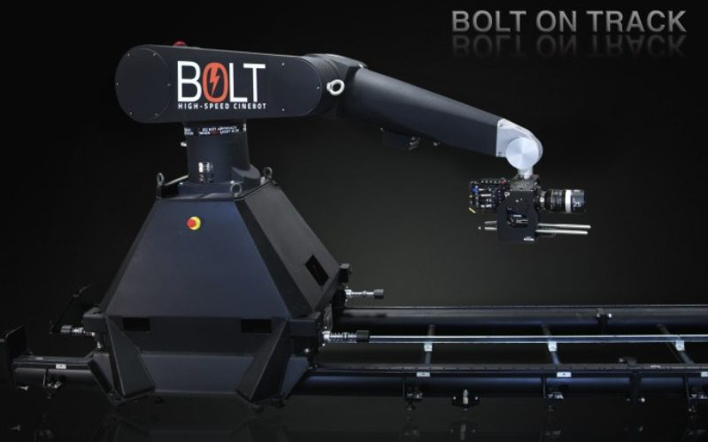Gigantesco robot televisivo baila para captar movimientos más reales