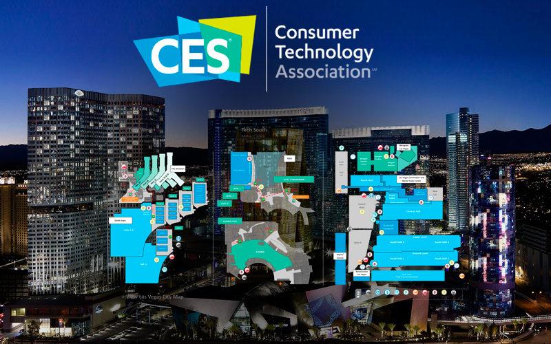 Conoce la distribución y ubicación del CES 2018